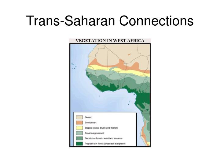 Trans-Saharan Connections