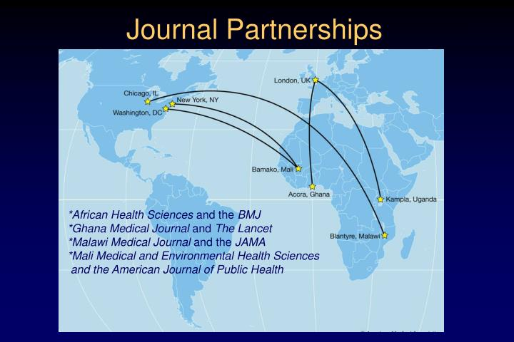 Journal Partnerships