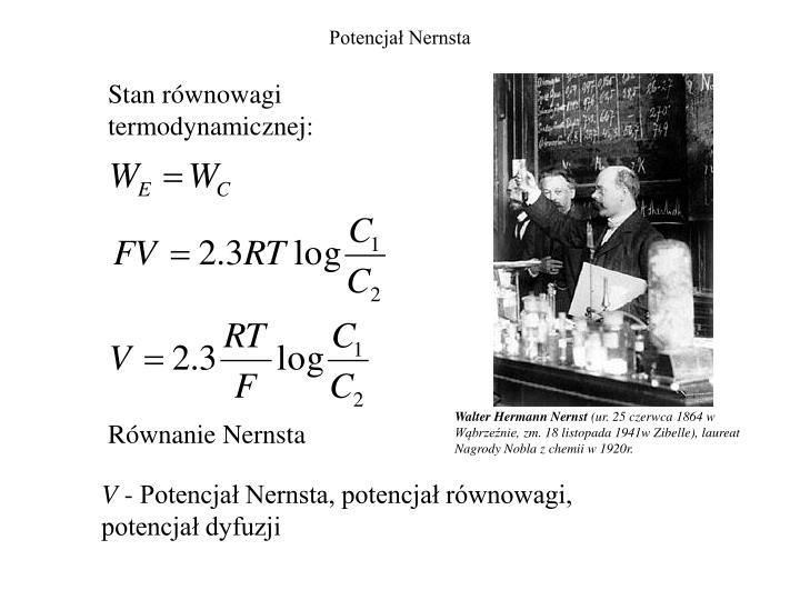 Potencjał Nernsta