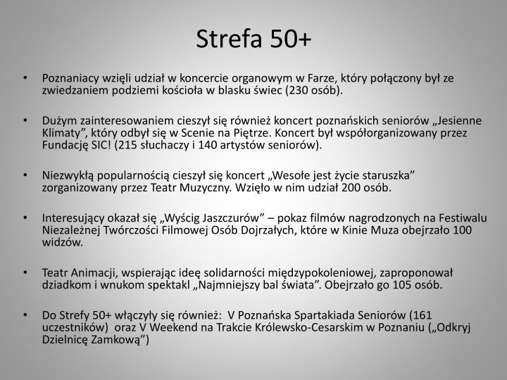 Strefa 50+