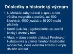 d sledky a historick v znam