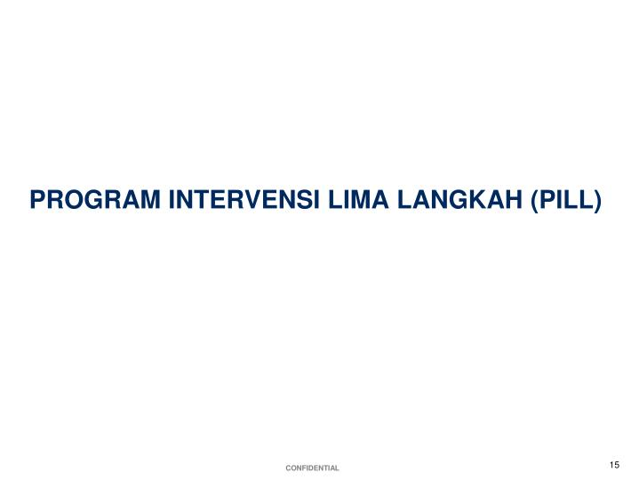 PROGRAM INTERVENSI LIMA LANGKAH (PILL)