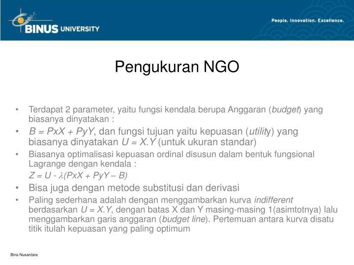 Pengukuran NGO