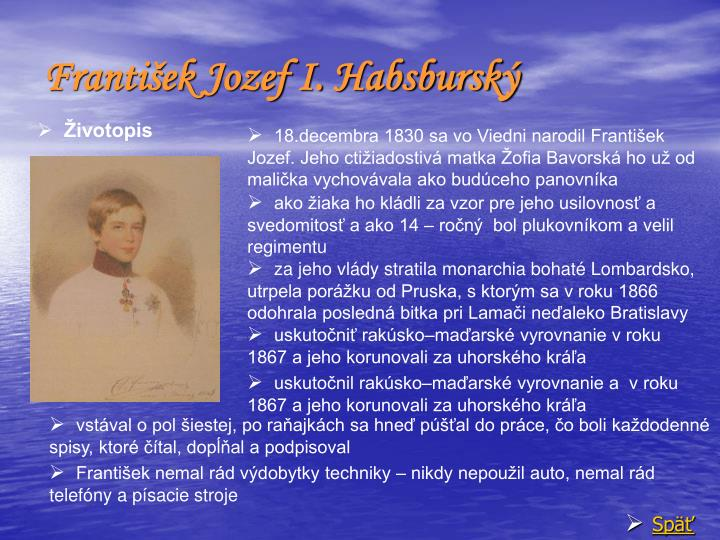 František Jozef I. Habsburský