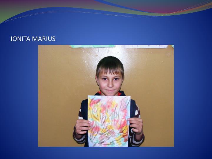 IONITA MARIUS