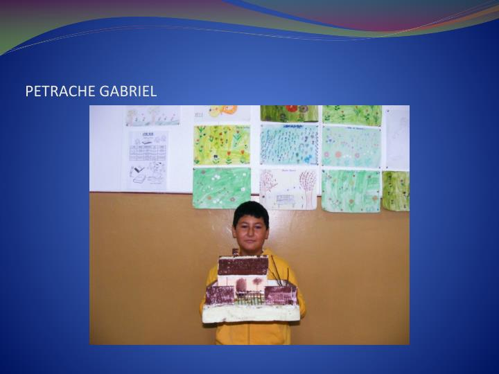 PETRACHE GABRIEL