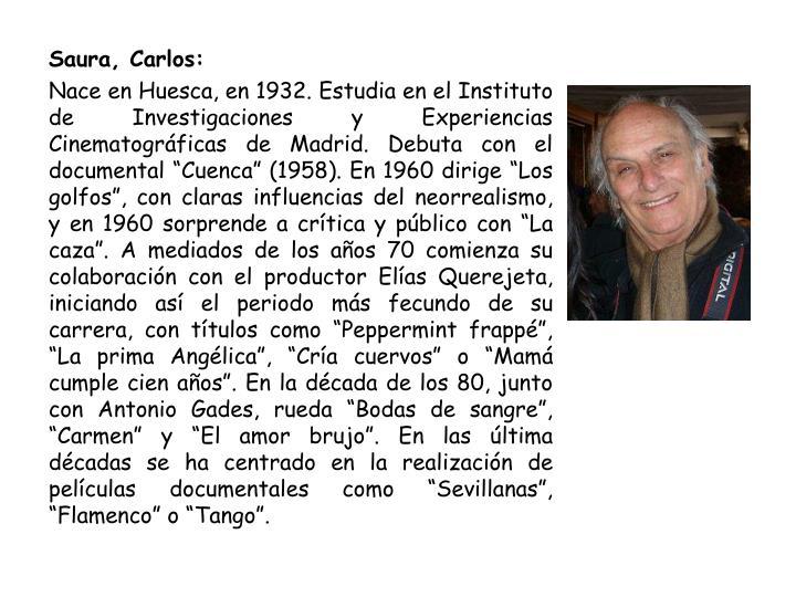 Saura, Carlos: