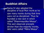 buddhist affairs