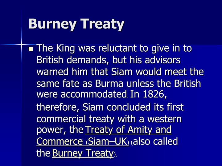 Burney Treaty