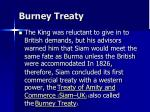 burney treaty