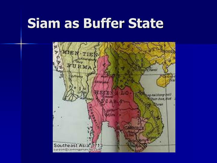 Siam as Buffer State