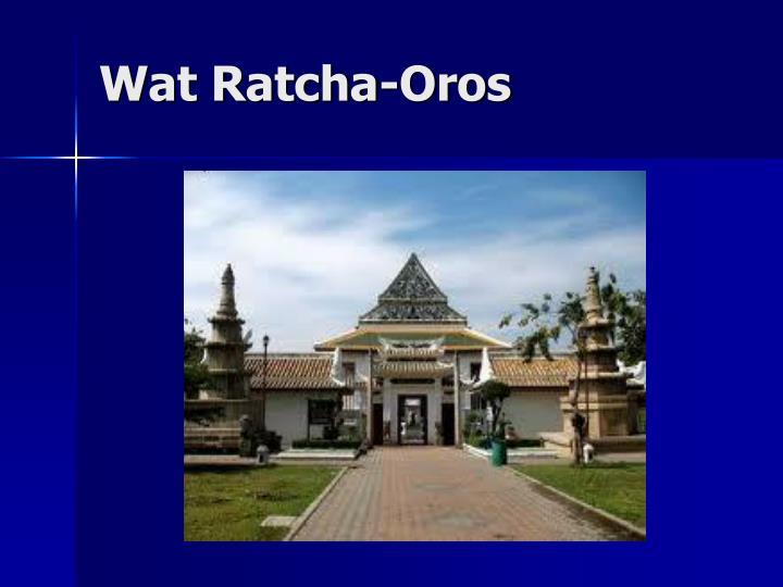 Wat Ratcha-Oros