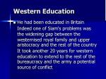 western education