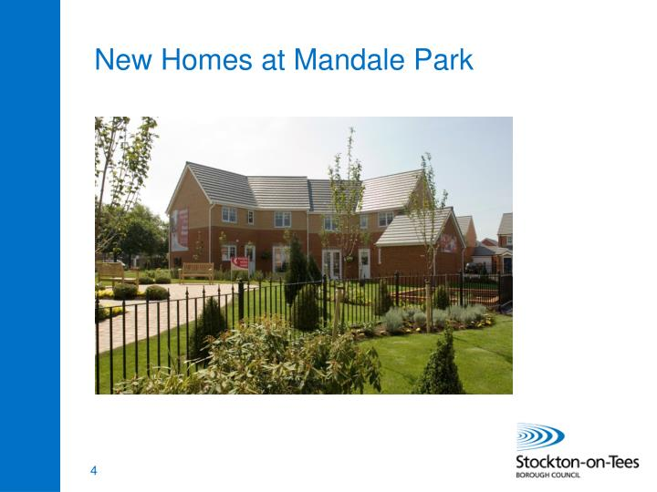 New Homes at Mandale Park