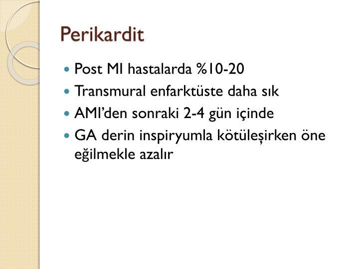 Perikardit