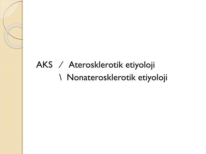AKS   ∕