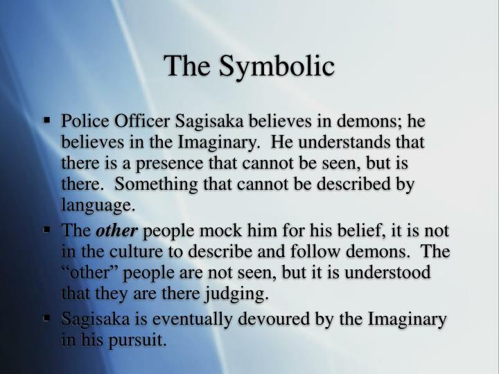 The Symbolic