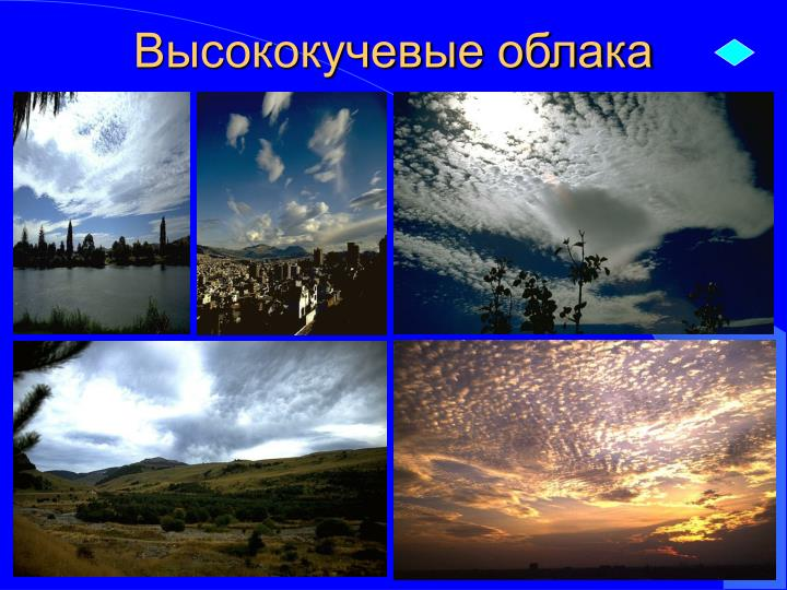 Высококучевые облака