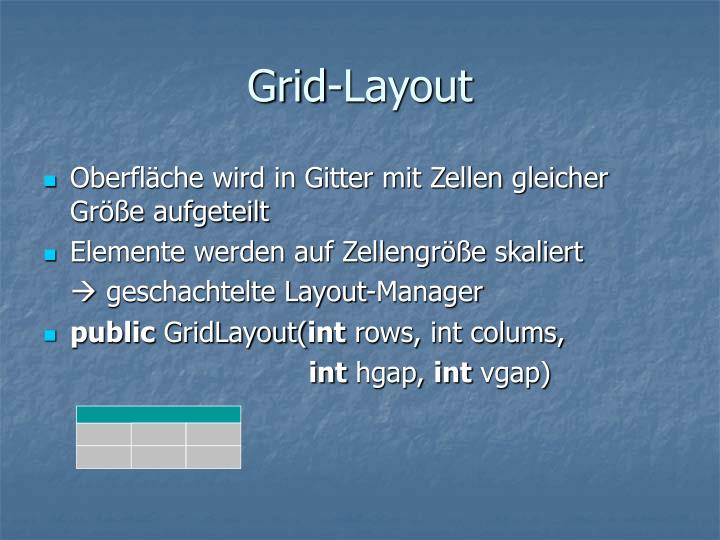 Grid-Layout