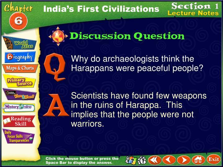 India's First Civilizations