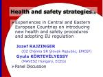 health and safety strategies 3
