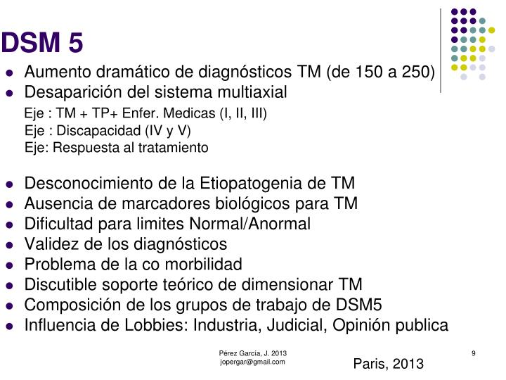 DSM 5