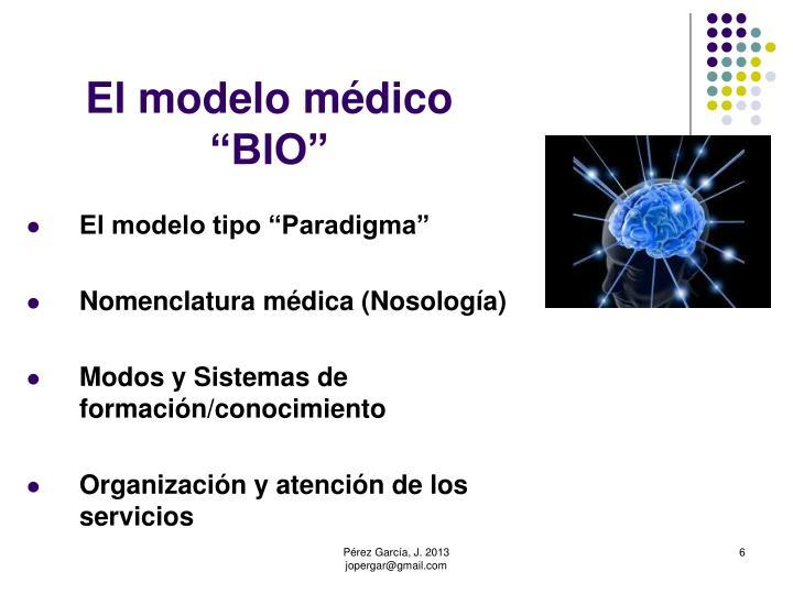 El modelo médico