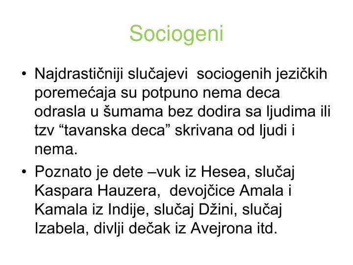 Sociogeni
