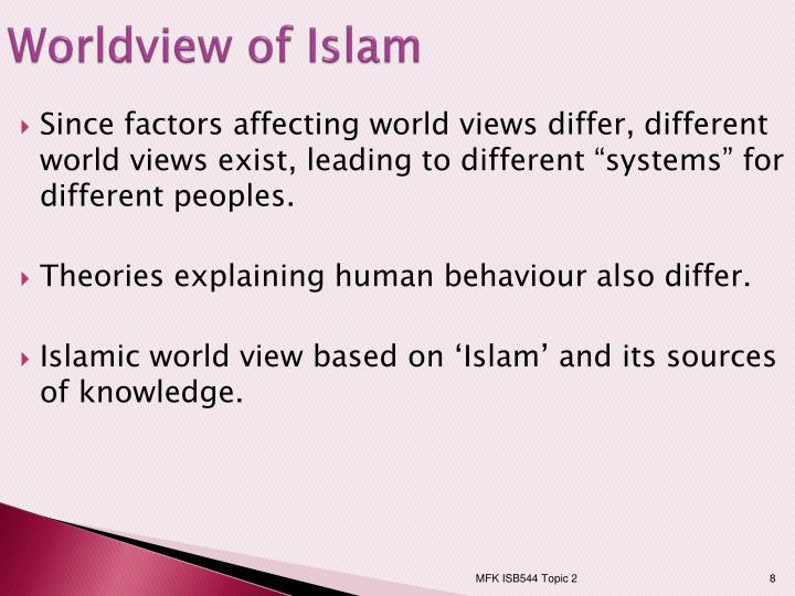 islamic and conventional worldview Based on empirical data gathered from islamic and conventional banks   organisational resources, islamic banking business model, ethical worldview,  financial.
