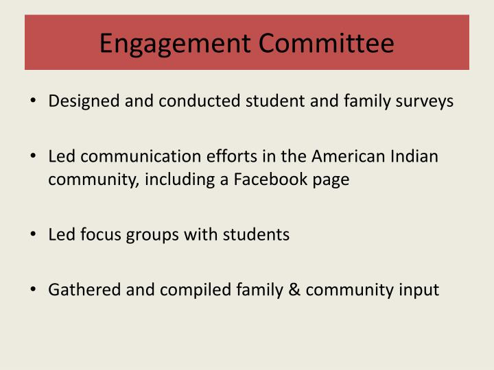 Engagement Committee