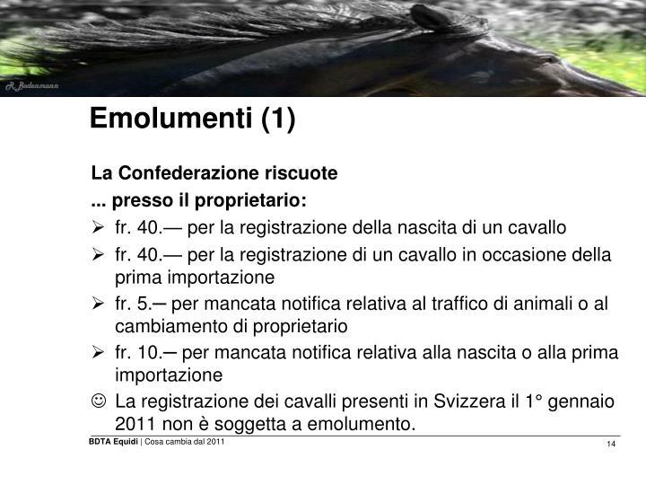 Emolumenti (1)