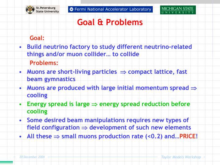 Goal & Problems