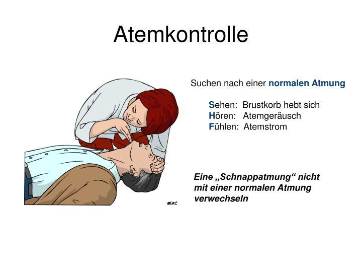 Atemkontrolle