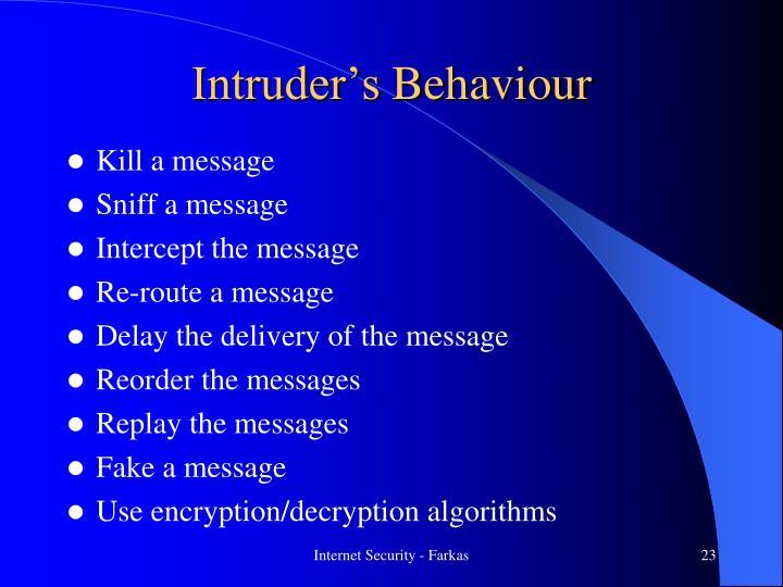 Intruder's
