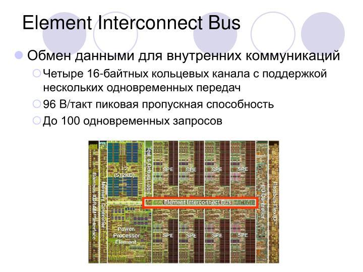 Element Interconnect Bus