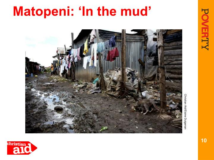 Matopeni: 'In the mud'