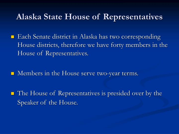 Alaska State House of Representatives