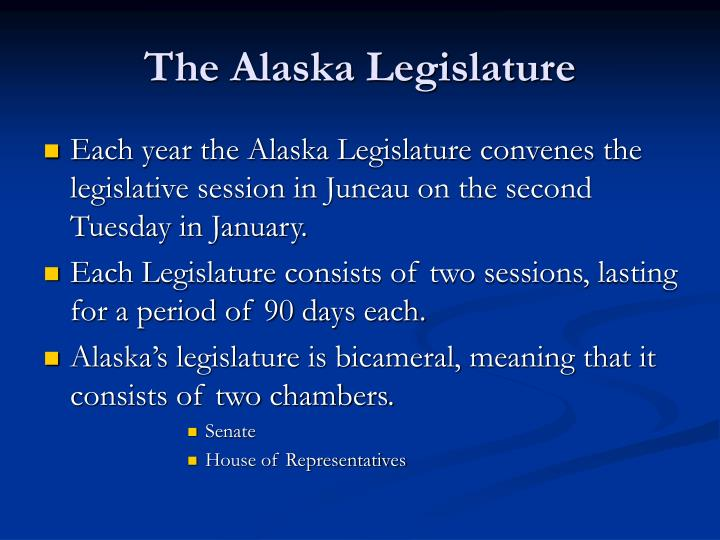 The Alaska Legislature