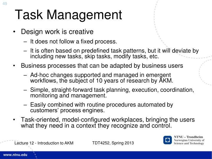 Task Management