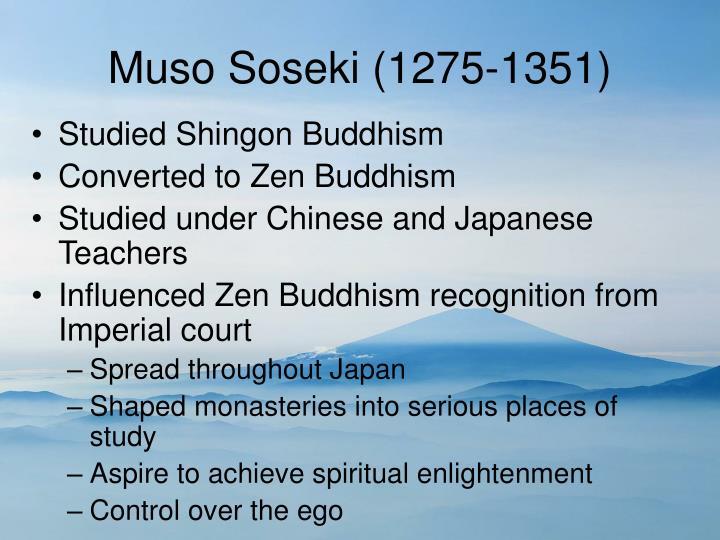 Muso Soseki (1275-1351)