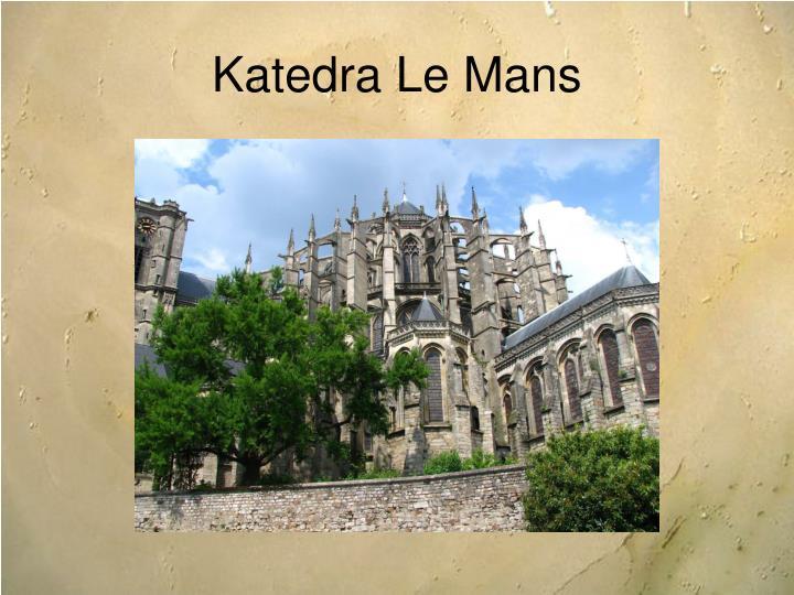 Katedra Le Mans