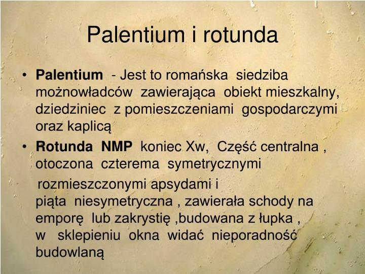 Palentium i rotunda