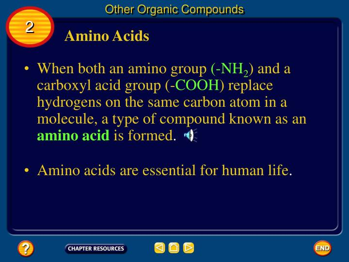 Other Organic Compounds