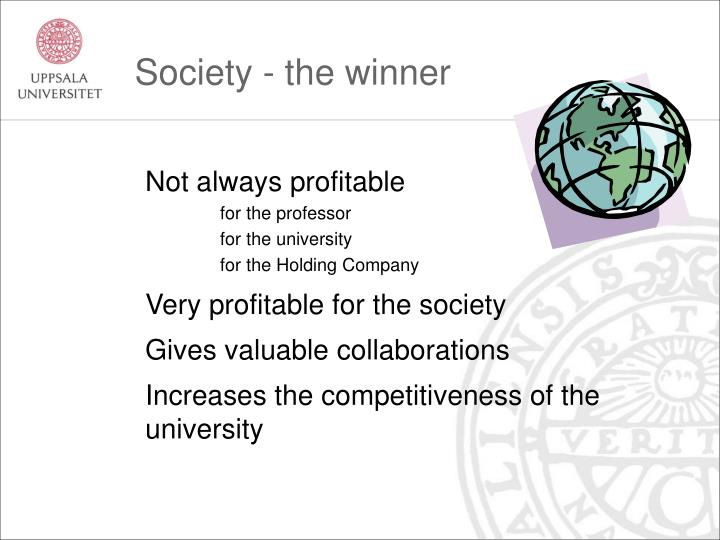 Society - the winner