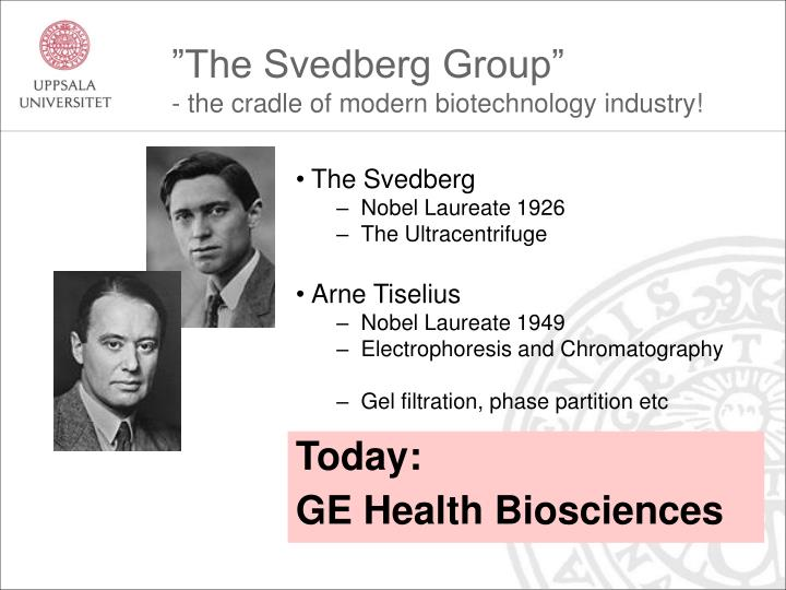 """The Svedberg Group"""
