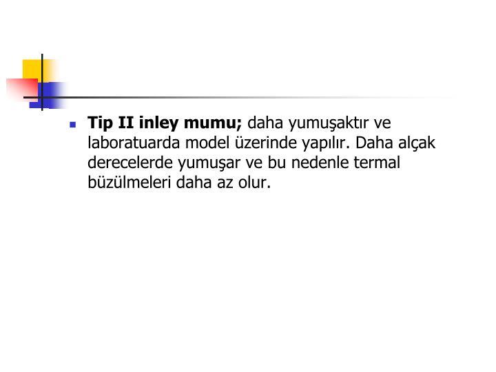 Tip II inley mumu;