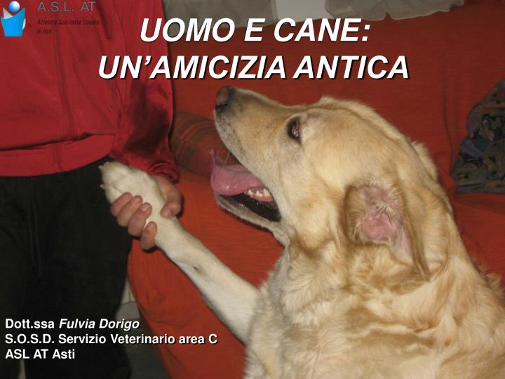UOMO E CANE: