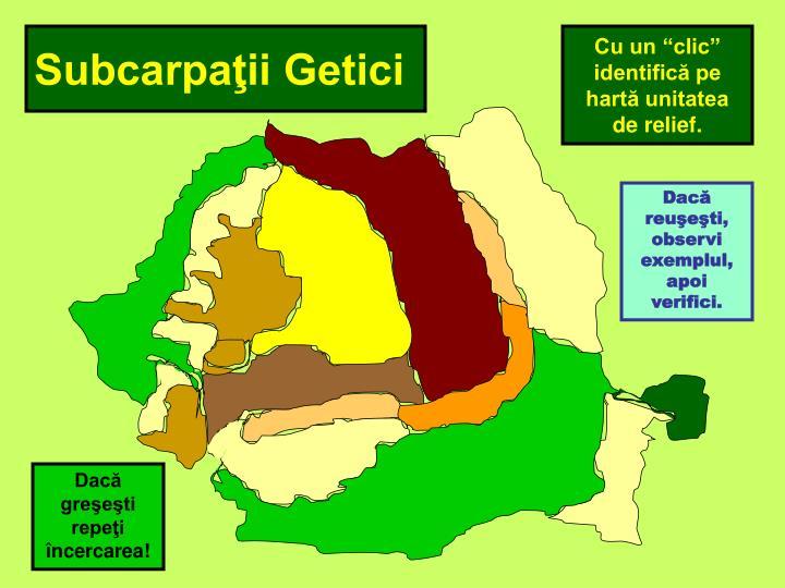 Subcarpaţii Getici