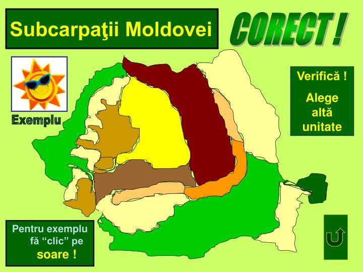 Subcarpaţii Moldovei