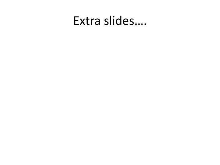 Extra slides….